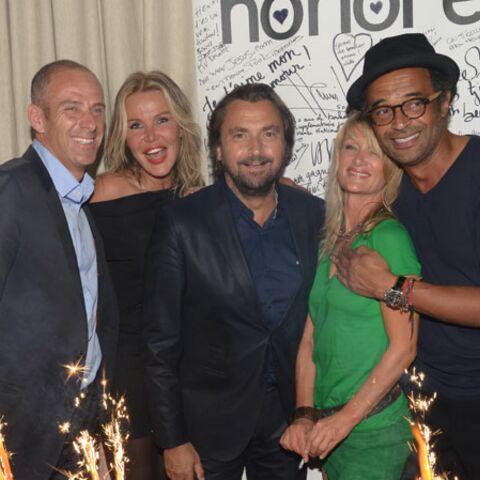 Gala By Night: Henri Leconte fête ses 50 ans avec ses amis Yannick Noah et Guy Forget