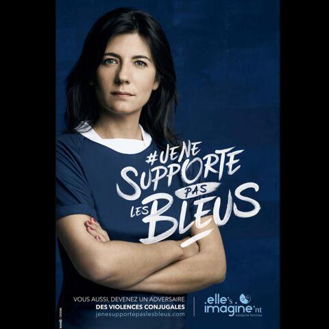 Raymond Domenech et Estelle Denis ne supportent pas les bleus