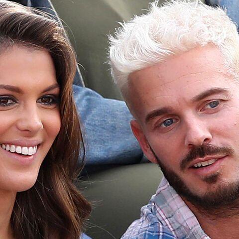 PHOTOS – M. Pokora et Iris Mittenaere complices à Roland-Garros