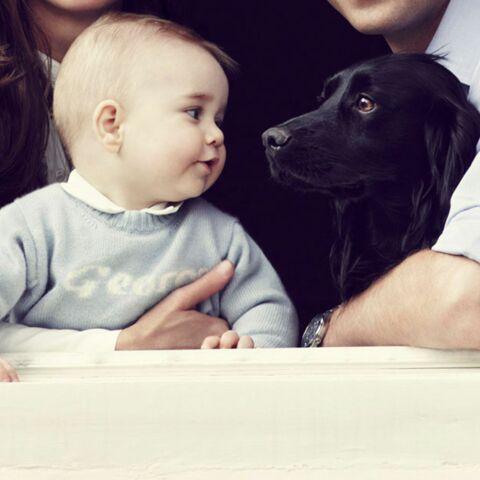 Prince George, son pull cousu main