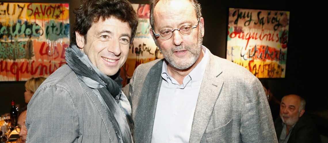 Gala By Night: Jean Reno et Patrick Bruel se régalent chez Guy Savoy