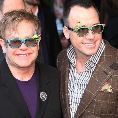 Elton John fête l'anniversaire de son mari