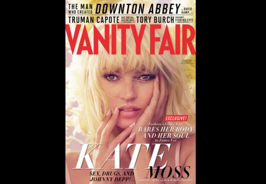 Vanity Fair revisite l'égérie sixties