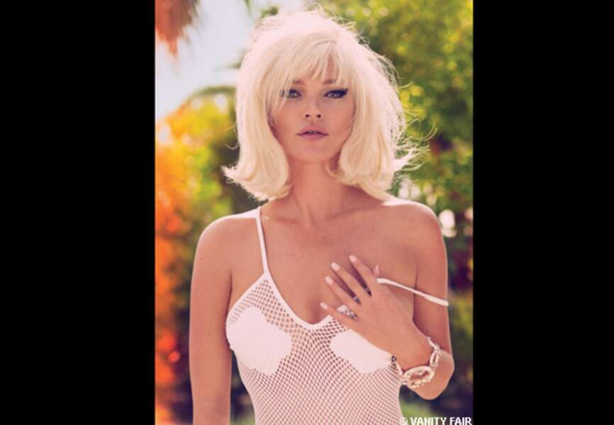 Kate Moss so Brigitte Bardot