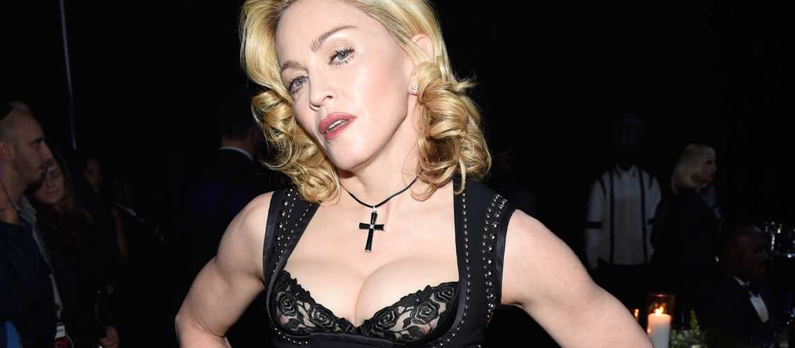 Madonna, back to the eighties