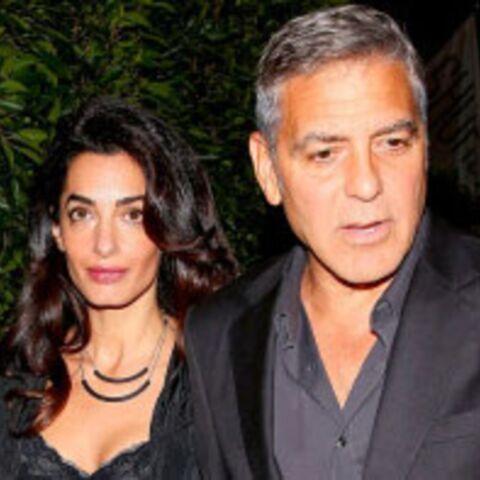 LOOK – Amal Clooney, en top sexy pour un dîner avec son mari George Clooney
