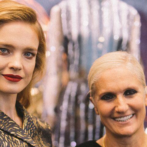 PHOTOS – Natalia Vodianova à l'inauguration de l'exposition Dior aux Galeries Lafayette