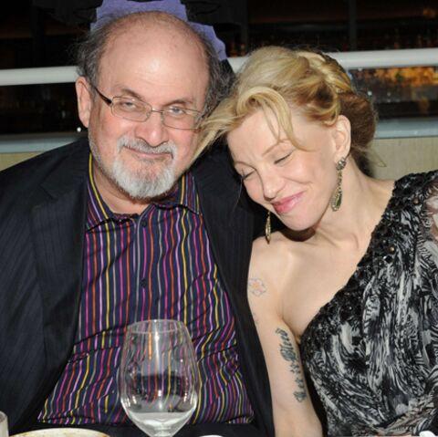 Salman Rushdie et Courtney Love ensemble?
