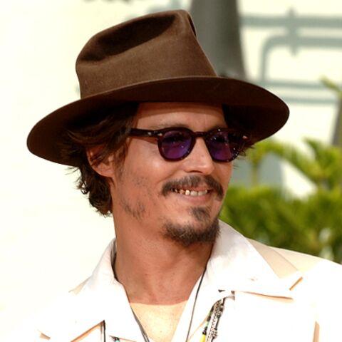 Johnny Depp toujours au vert