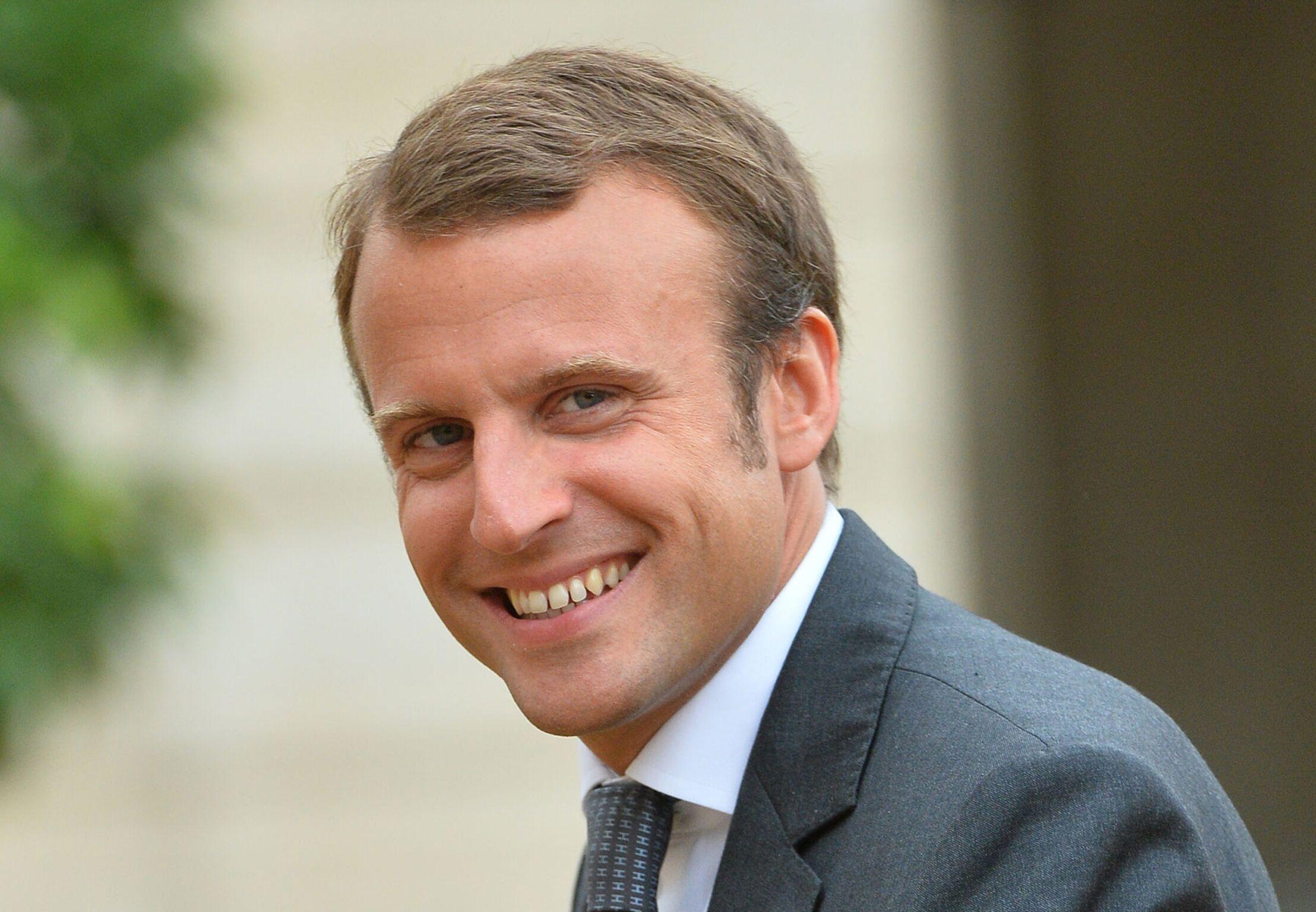 Emmanuel Macron La Biographie De Emmanuel Macron Avec Gala Fr