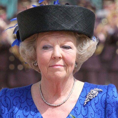Sale temps pour la reine Beatrix des Pays-Bas!