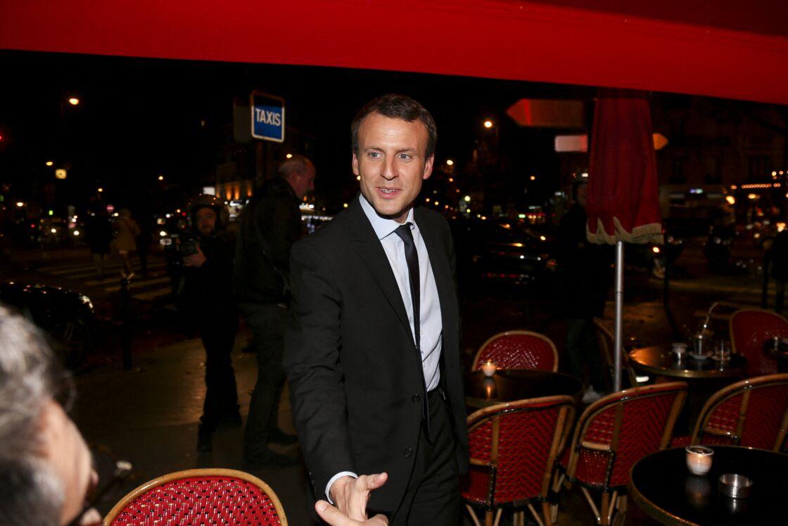 Le 23 avril 2017, suite au premier tour de l'élection présidentielle, Emmanuel Macron avait convié de nombreuses personnalités à La Rotonde, à Paris, pour célébrer sa victoire