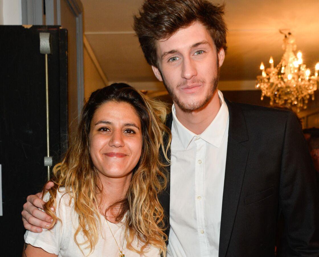 Joana Balavoine, avec Jean-Baptiste Maunier, lors de l'enregistrement de l'émission