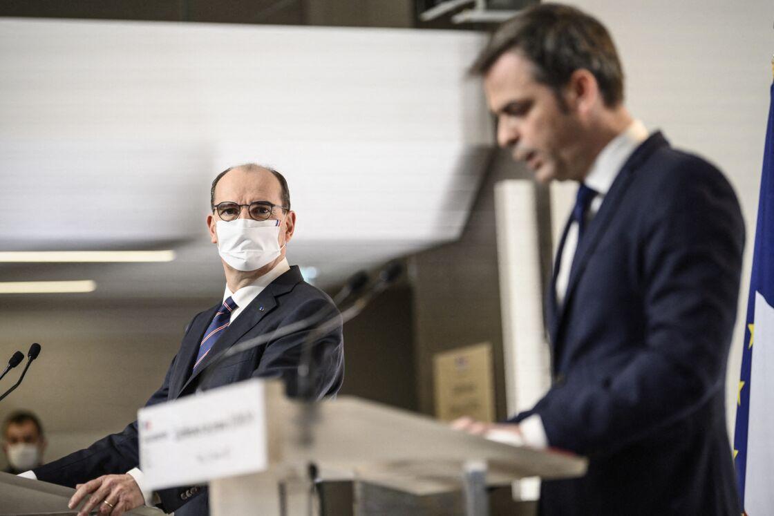 Olivier Véran et Jean Castex en première ligne