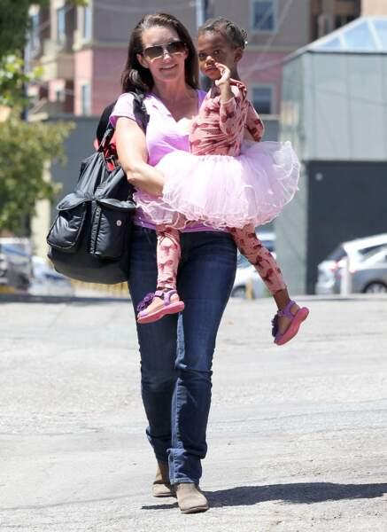 Kristin Davis est proche de Gemma