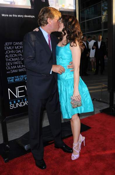 Kristin Davis avait eu une relation en 2012
