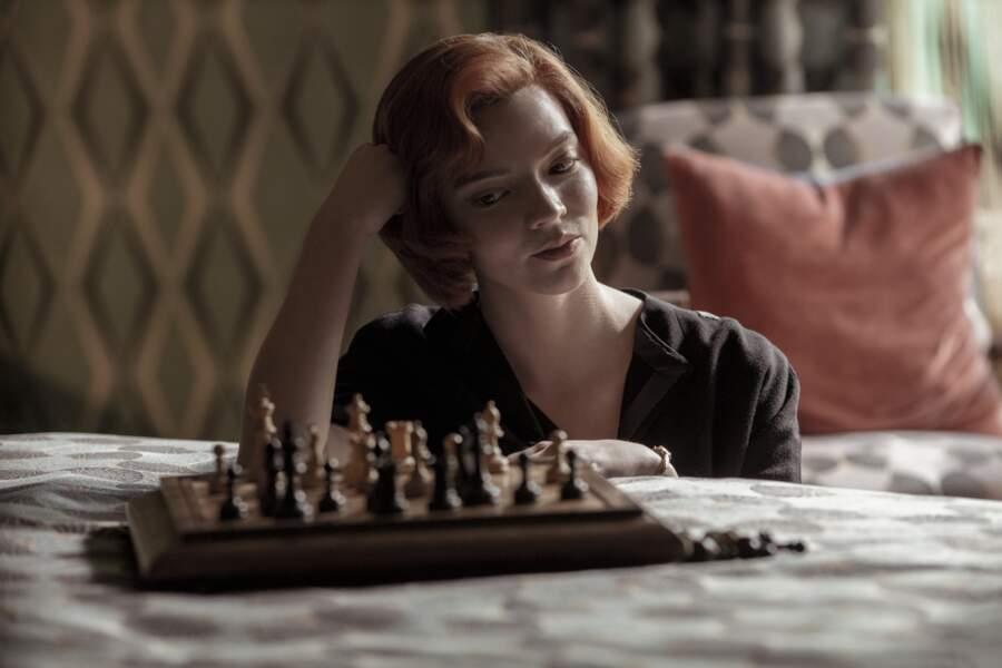 Le roux orangé de Beth, le personnage joué par Anya Taylor-Joy dans le Jeu de la dame, a détroné celui de Sansa Stark dans la série Game Of Thrones