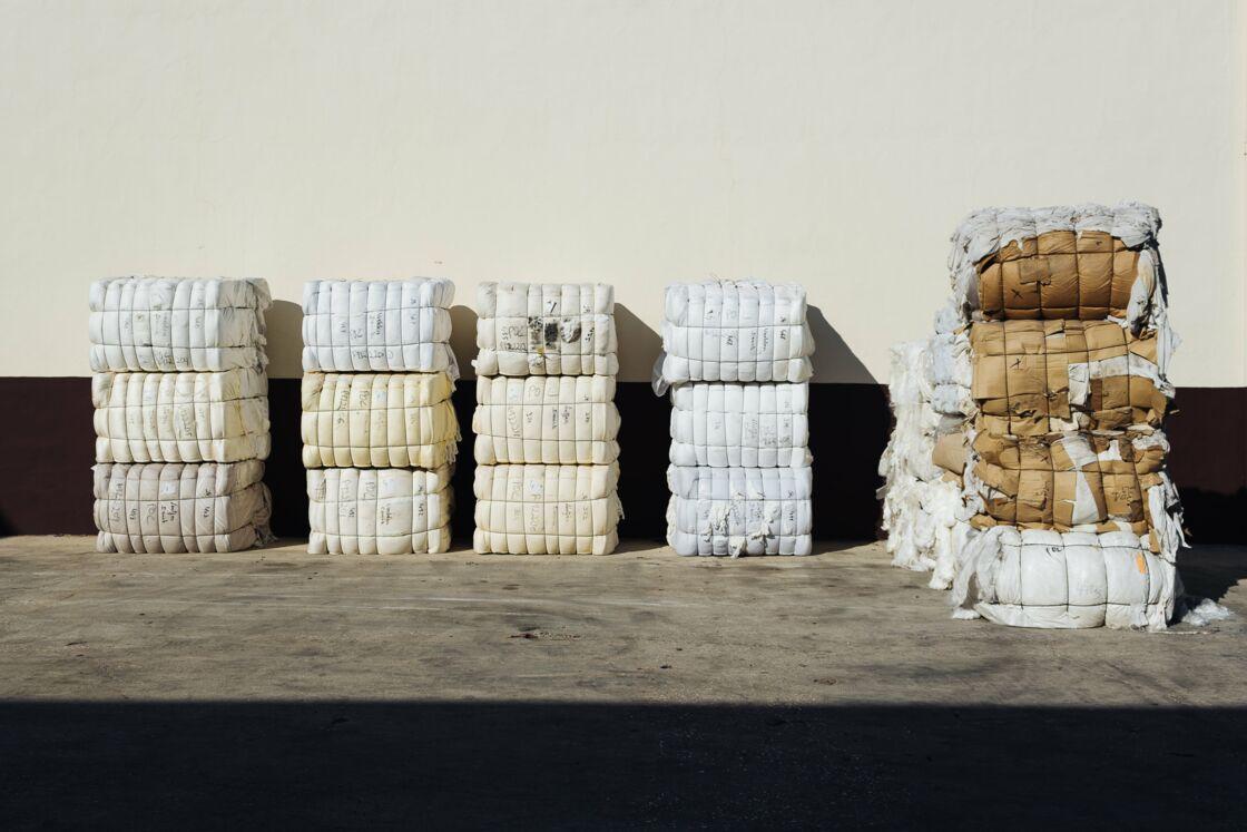 Les fibres recyclées et transformées par Hopaal