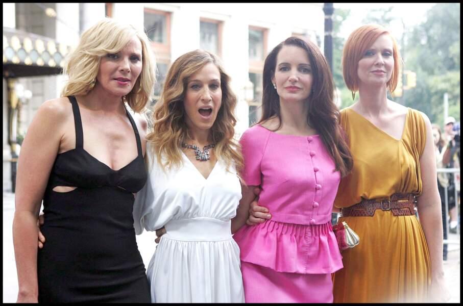 Sarah Jessica Parker, Cynthia Nixon et Kristin Davis sont de retour