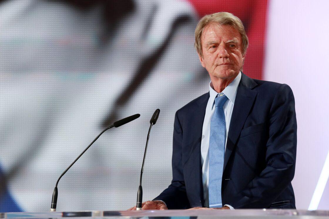 Bernard Kouchner au meeting annuel du NCRI, à Villepinte, le 13 juin 2015.