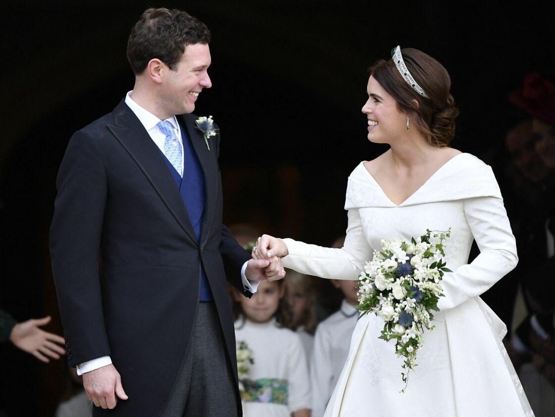 La princesse Eugénie et Jack Brooksbank se sont dit oui le 12 octobre 2018