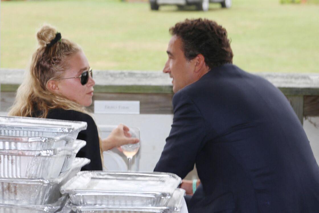 Mary Kate Olsen et Olivier Sarkozy au 38e Hampton Classic Horse Show - Grand Prix le 1er dimanche septembre 2013, à Bridgehampton, New York.