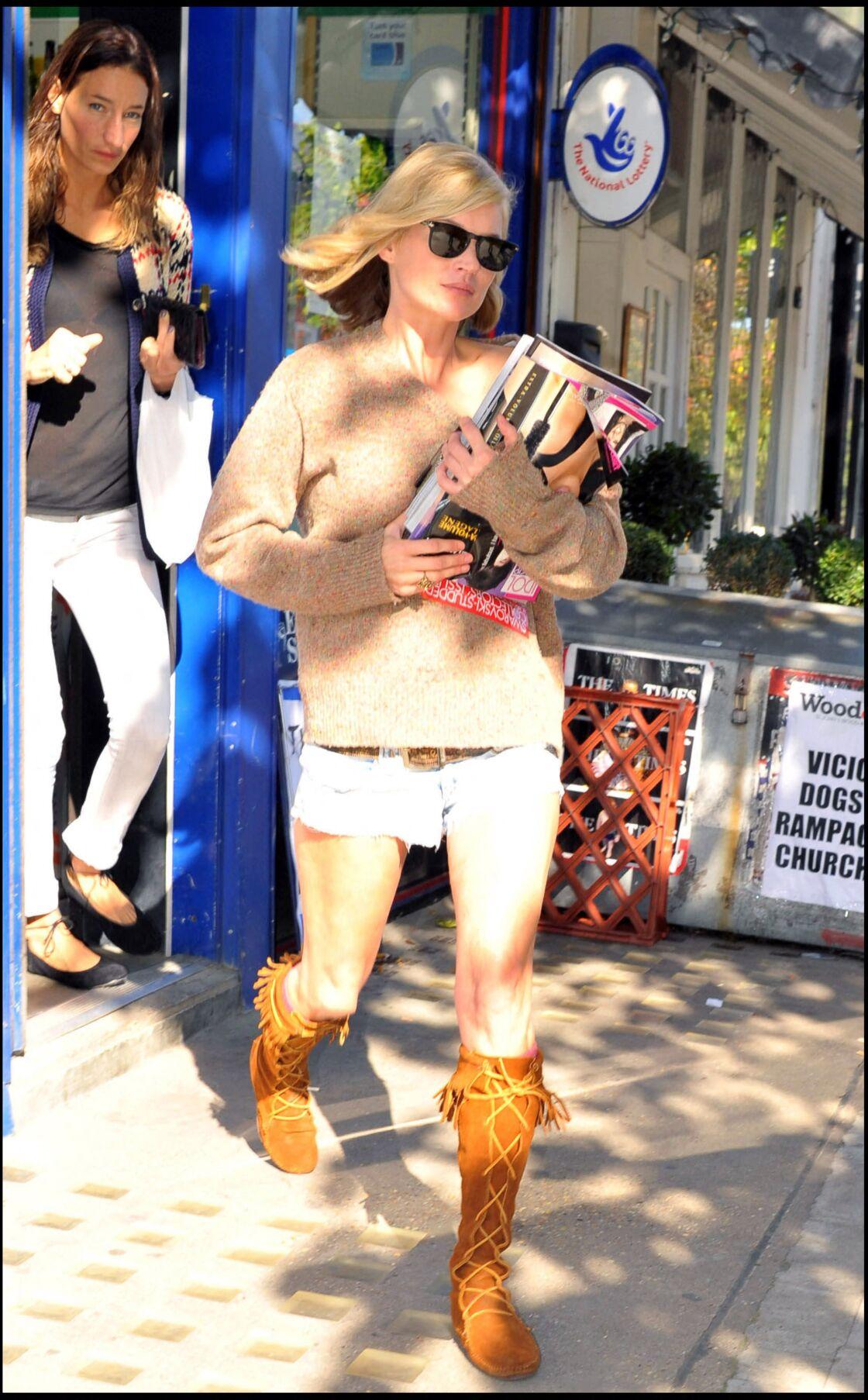 La botte Minnetonka est un intemporel du vestiaire de Kate Moss et a inspiré d'autres célébrités après elle.