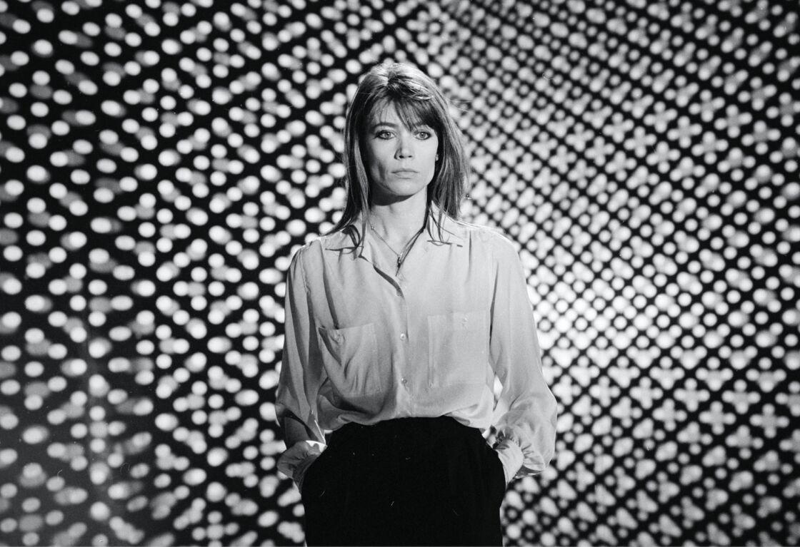 Françoise Hardy dans l'l'émission