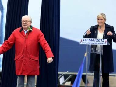 PHOTOS - Marine Le Pen et son père Jean-Marie, une relation tumulteuse
