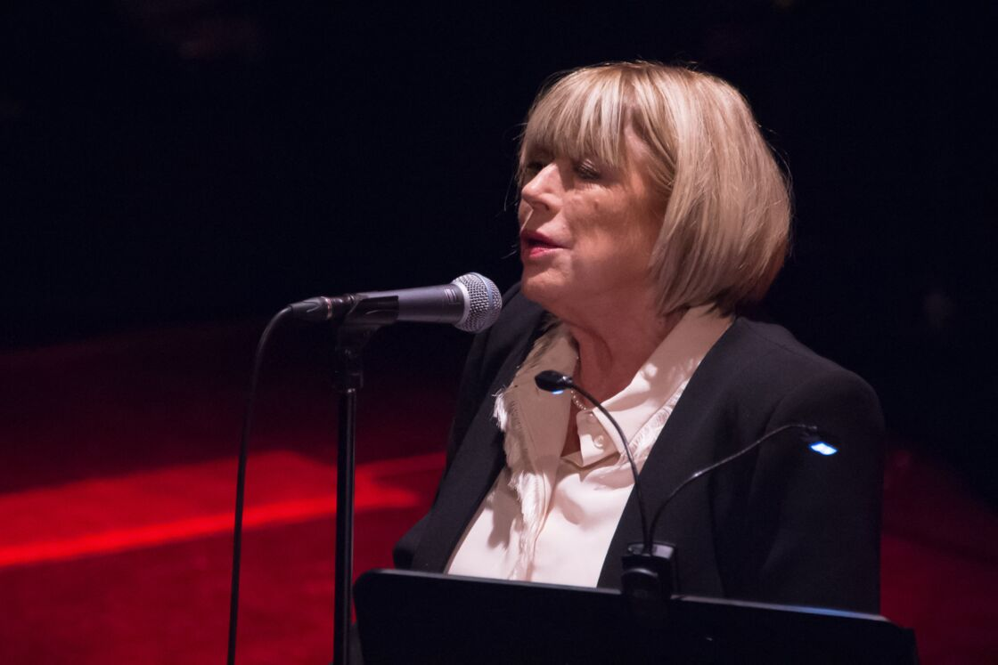 Marianne Faithfull en concert au Trianon, à Paris, le 7 octobre 2015