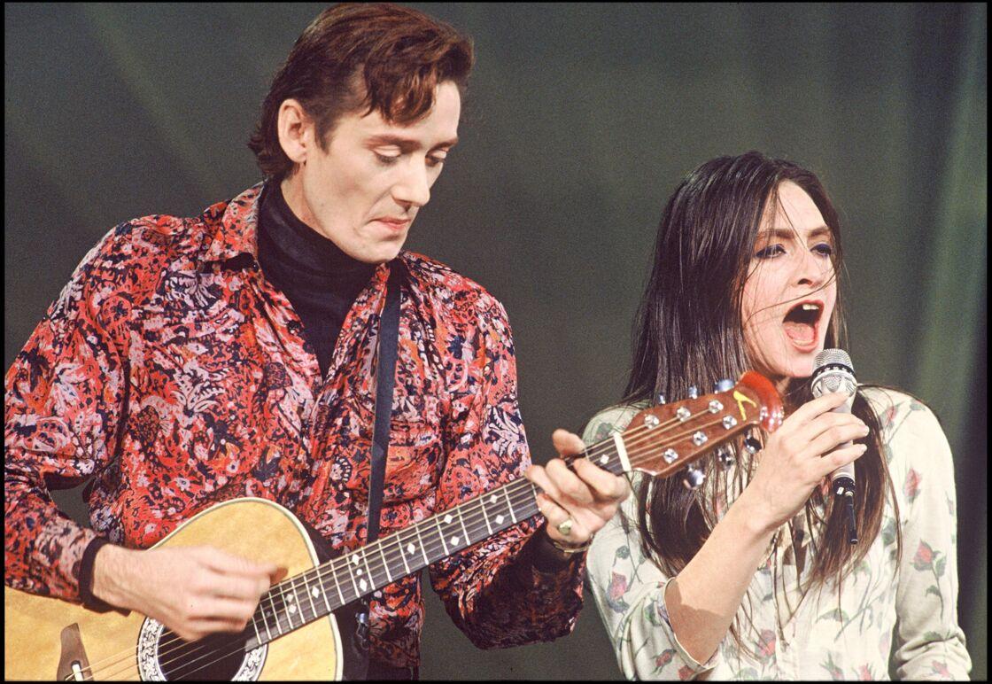 Fred Chichin et Catherine Ringer aux Victoires de la musique 1990