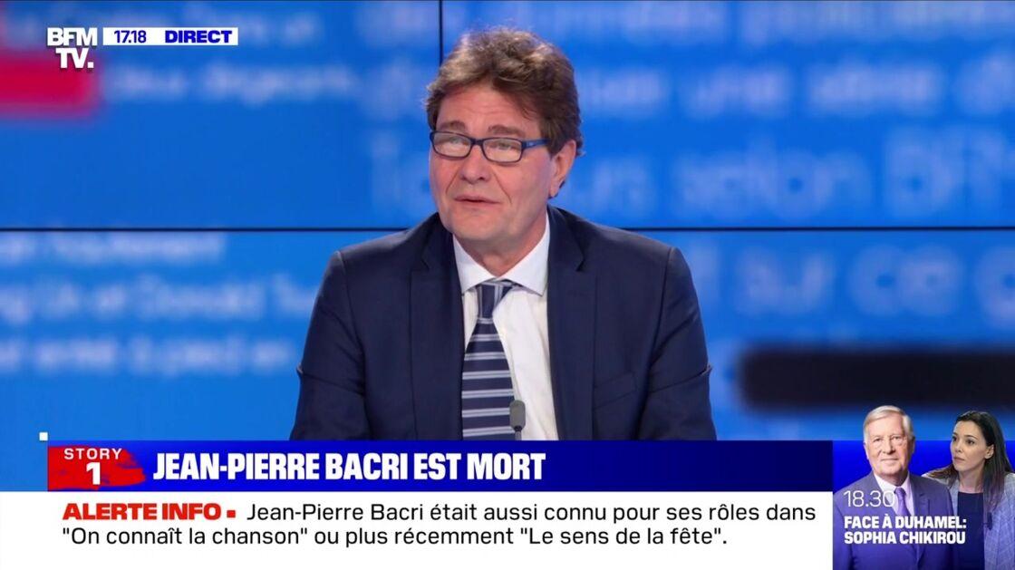 Le docteur Pierre Squara a réagi à la mort de son patient, Jean-Pierre Bacri, en direct sur l'antenne de BFMTV ce lundi 18 janvier 2021