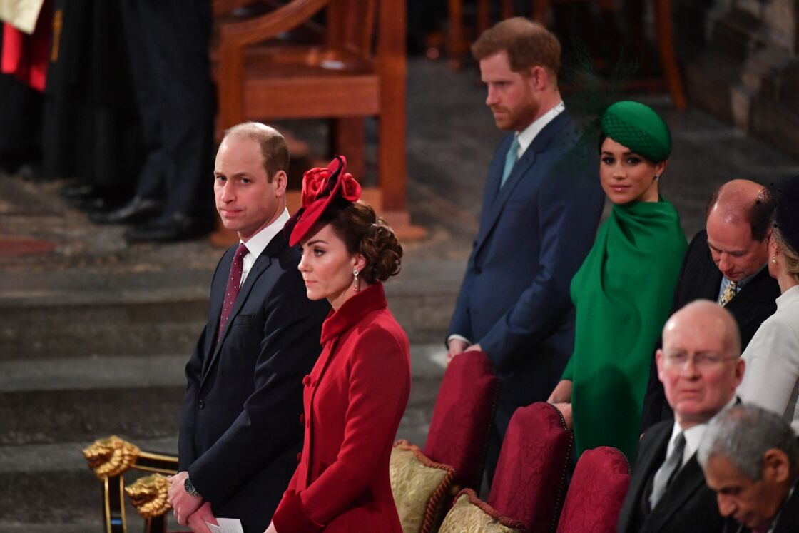 Kate Middleton, le prince William, Meghan Markle et le prince Harry