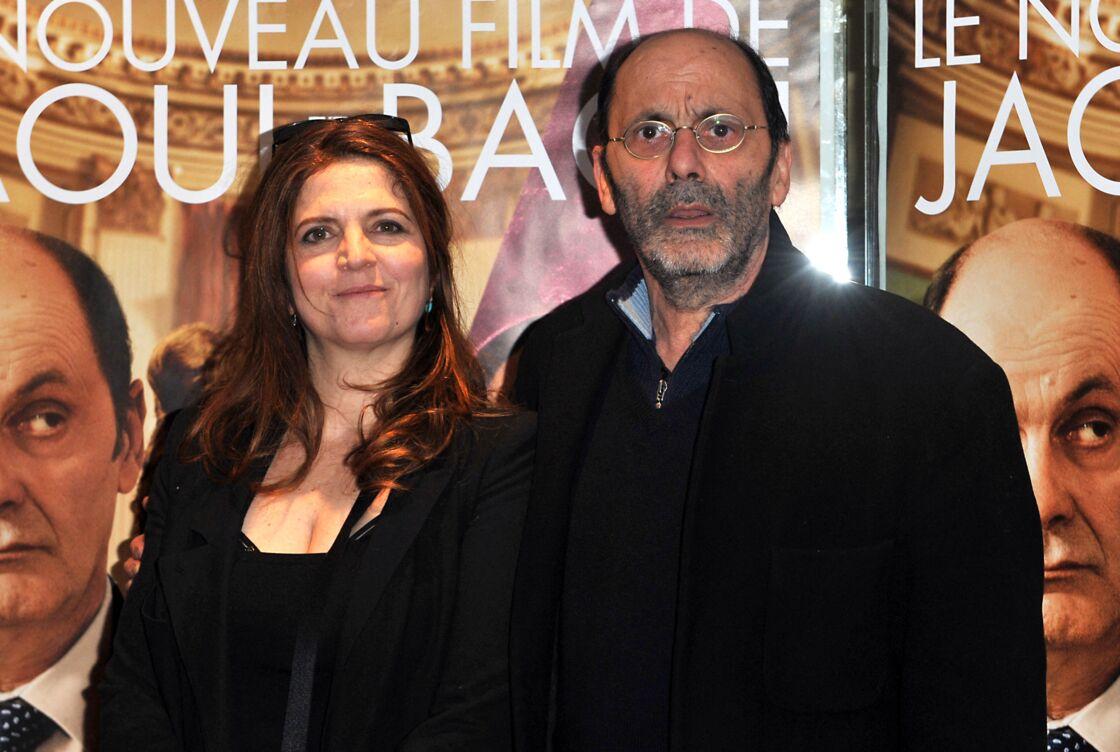 Agnes Jaoui et Jean Pierre Bacri - Avant premiere de