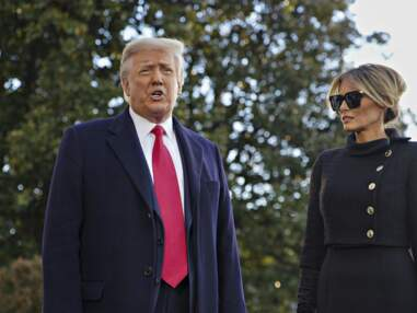 PHOTOS - Donald et Melania Trump quittent Washington