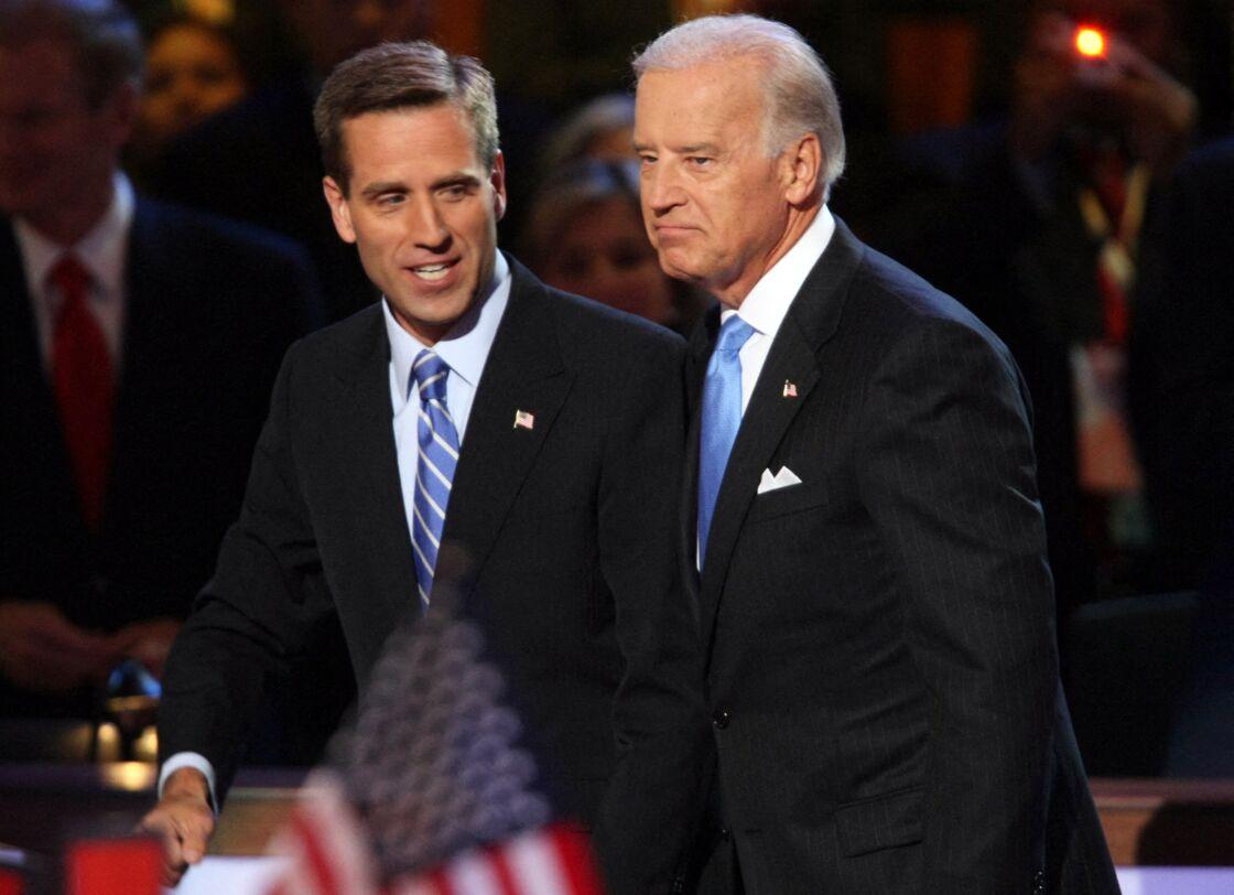 Joe Biden très proche de son fils Beau en 2011