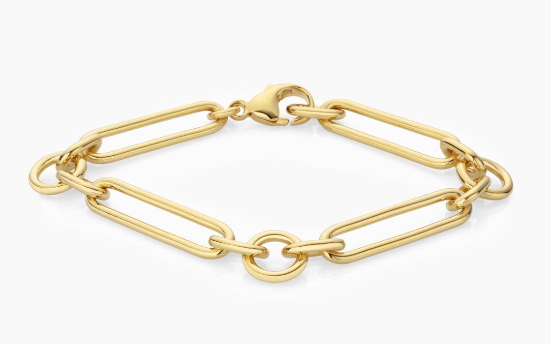 Bracelet French Maille en vermeille éthique, Blancca Jewellery, 560 €.