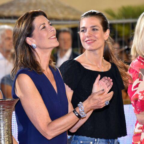 PHOTOS – Caroline de Monaco et Charlotte Casiraghi: la beauté en héritage
