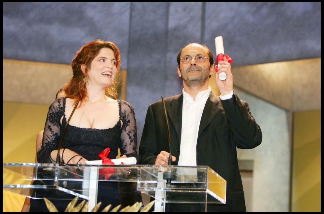 Agnès Jaoui et Jean-Pierre Bacri au 57ème Festival de Cannes, le 22 mai 2004