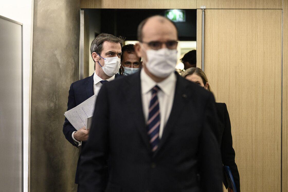Olivier Véran et Jean Castex en première ligne face à la crise sanitaire