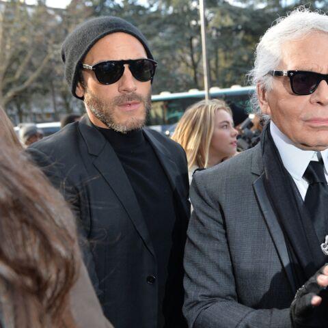 Karl Lagerfeld: «Pas facile de redevenir un mec normal» pour son protégé Sébastien Jondeau