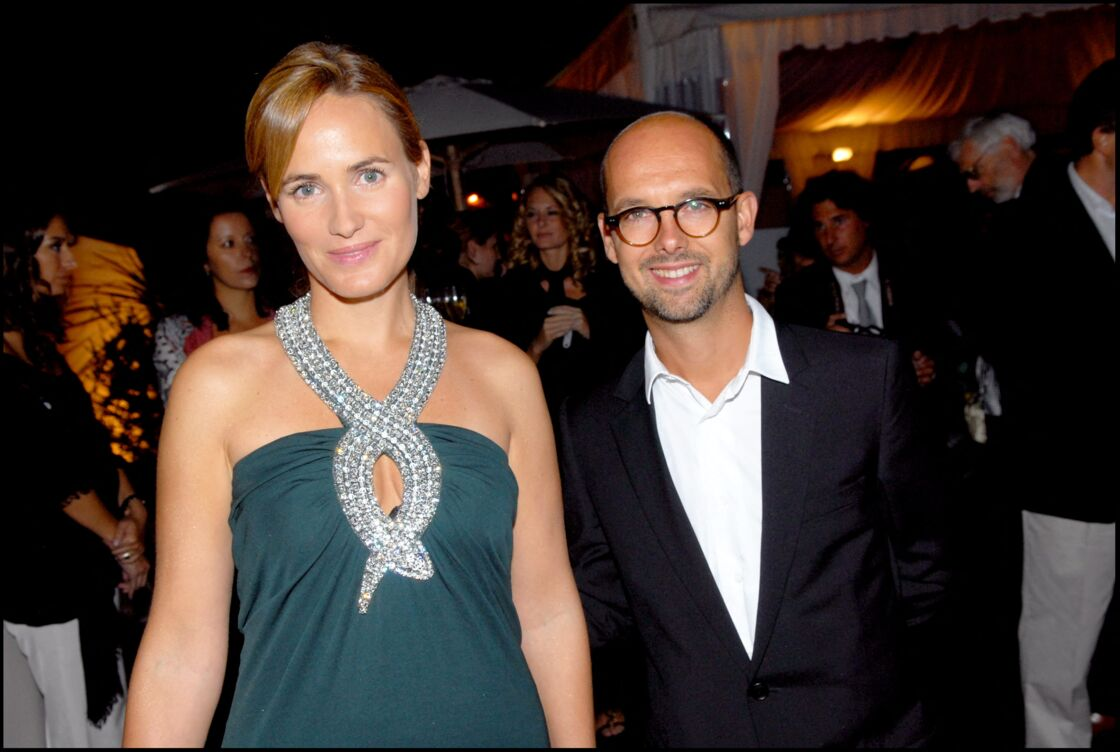 Judith Godrèche et Maurice Barthélemy à la Mostra de Venise le 2 septembre 2007