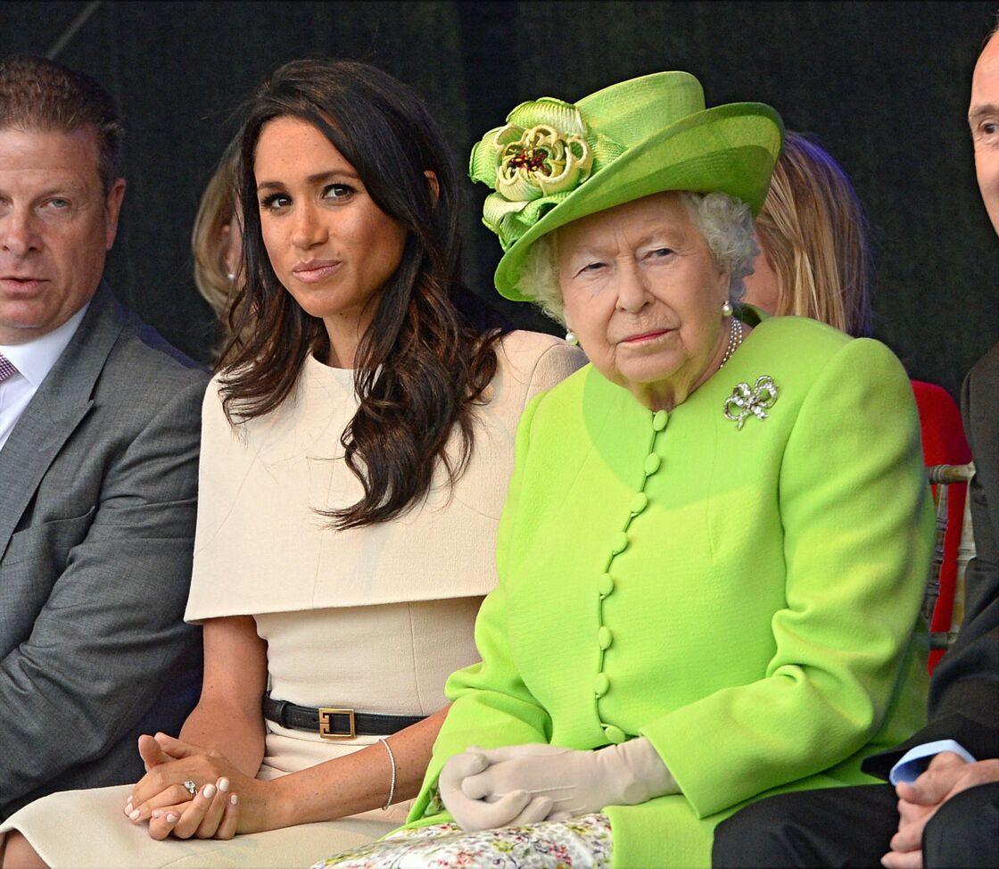La llegada de la actriz estadounidense a la familia real causó sensación.