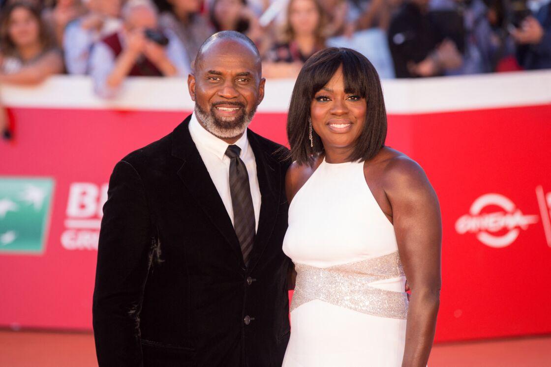 Viola Davis et son mari Julius Tennon lors du 14ème Festival International du Film de Rome, en 2019