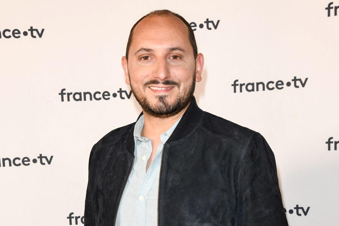 Karim Rissouli au photocall de la conférence de presse de France 2 au théâtre Marigny à Paris le 18 juin 2019