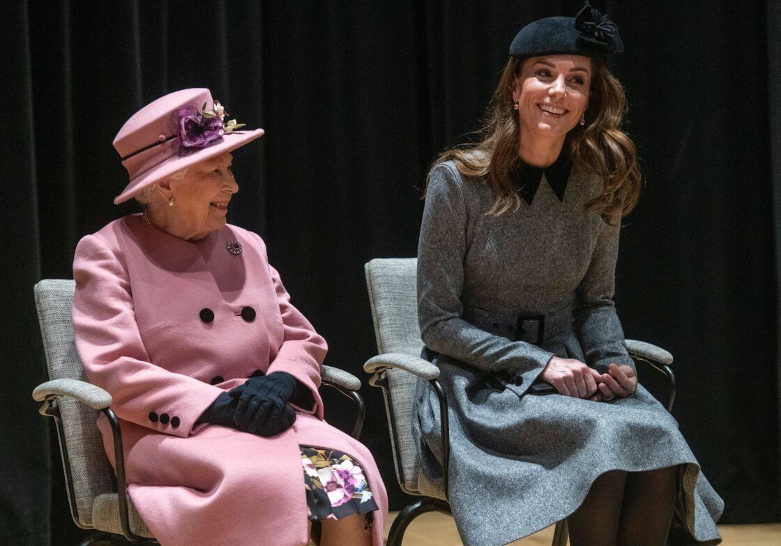 Au fil des années, Elizabeth II et Kate Middleton sont devenues très proches