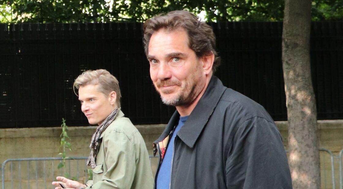 Le chanteur Bénabar et Sébastien Farran - Célébrités à l'enregistrement de l'émission