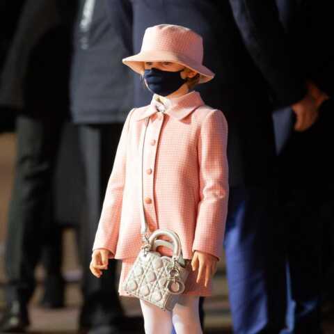 PHOTOS – Charlene de Monaco: sa fille de 6 ans Gabriella ultra stylée en Dior