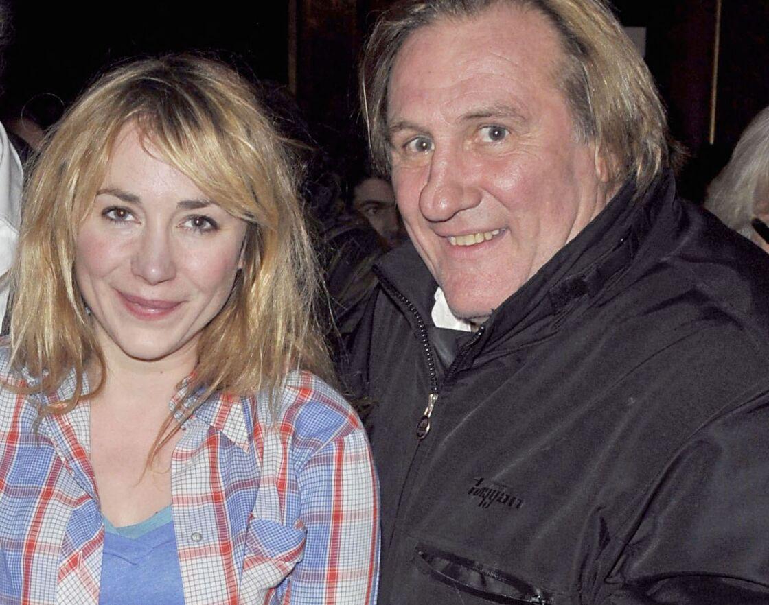 Julie et Gérard Depardieu, en 2009