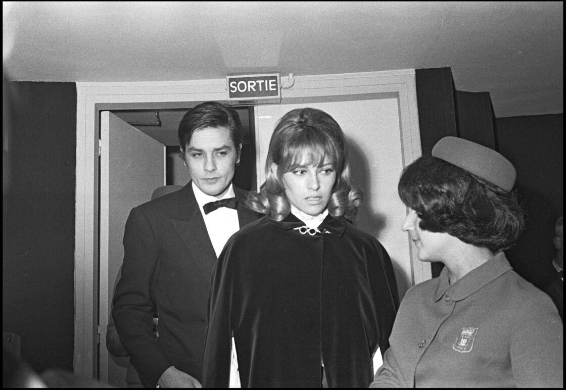 Alain et Nathalie Delon au Théâtre Marigny en 1967
